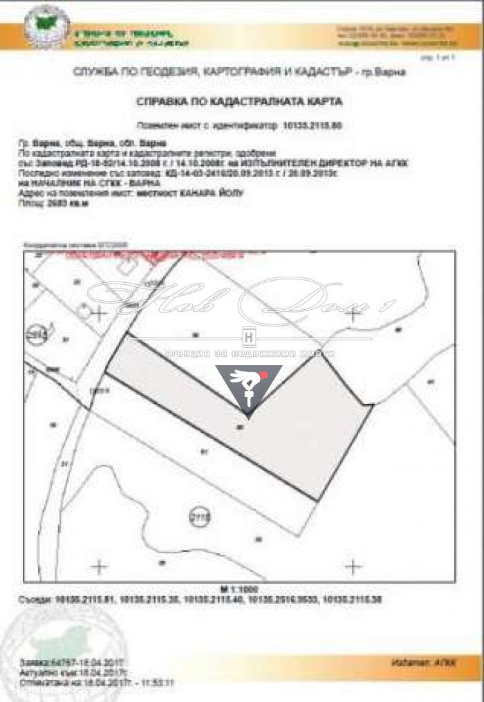 Prodava Parcel Oblast Varna M St Alen Mak 27 000