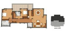 1 Bedroom apartment,  Sofia, Lozenec, 211  sq.m.